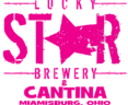 Lucky Star Logo Pink Transparent Background